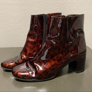 J.Crew Patent Leather Booties